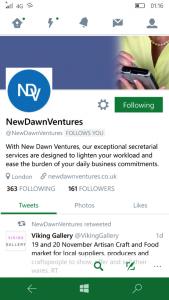 NDV Twitter